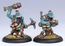 BNIB Warmachine Hordes - Trollblood Pyg Burrowers (2)