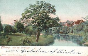 GOTEBORG – Parti fran Slottskogen – Gothenburg – Sweden - udb (pre 1908)