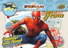 Spider-Man Far From Home Movie GREETINGS FROM ABROAD Trading Card Insert GFA-6