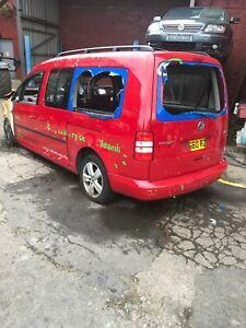 2010 VW CADDY MAXI C20 LIFE BREAKING RED 1.6 TDI CAYD- WHEEL BOLT