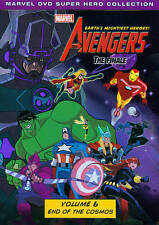 Marvel The Avengers: Earth's Mightiest Heroes! Volume Six DVD, Capt America, Hul