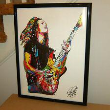 Kirk Hammett, Metallica, Lead Guitar, Heavy Metal Guitarist,18x24 POSTER w/COA1