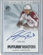 2011-12 SP Authentic Future Watch Rookie Autograph 247 GABRIEL LANDESKOG 958/999