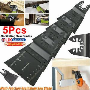 5Pcs Universal Oscillating Saw Blade 34mm Multi Tool Blades Wood Metal Cutter