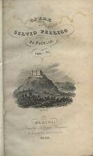 Silvio Pellico - Saluzzo - Tragedie - facsimile lettera a Latour - Parigi 1835