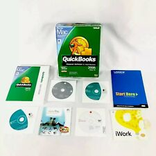 QuickBooks Pro Mac 2005 Financial Software Small Business Verizon 7.0 Key Code