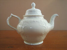 Sanssouci Rosenthal Ivory Teapot Tea Pot No Trim Embossed Beaded Continental Exc