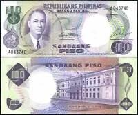 PHILIPPINES 100 PISO PESO P 147 SIGN 7 UNC LOT 5 PCS