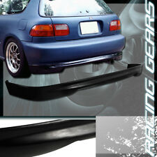 TYPE-R STYLE POLYURETHANE REAR BUMPER BODY KIT LIP FIT 92-95 HONDA CIVIC 3-DR