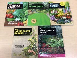 5 Dr D G Hessayon Bundle Veg, House, Tree & shrub, Lawn, Flower Expert Books +