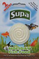 Supa Vacation Holiday Fish Food Feeding Block For Tropical & Cold Water Fish