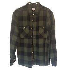Momotaro Buffalo Check Soft Flannel 44 Fits Usa Large!