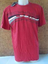 tee SHIRT à manches courtes  OAKLEY, coton, rouge en XL/ NEUF/ 431202