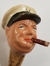 Vintage 1940s ? Winston Churchill Bottle cork Pourer
