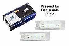 Premium LED Kennzeichenbeleuchtung Fiat Grande Punto (199) ab 2008 KB2