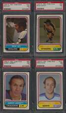 1975 O-Pee-Chee WHA Hockey PSA 7 lot of 4 different graded cards 44475