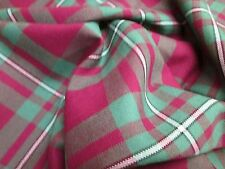 MacGregor Hunting Ancient Tartan Fabric Plaid 13oz 100% Wool By The Metre