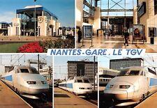 CP 44000 NANTES TRAIN TGV ATLANTIQUE Gare S.N.C.F. accès sud Edt MIEGEVILLE