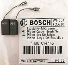 ESCOBILLAS De Carbón De Bosch Genuino 1607014145 para Amoladora angular GWS 6-115 e 6-115 S44