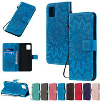 Sunflowers Wallet Leather Flip Case Cover For Samsung S20 S10 S9 S8 Plus Note 20