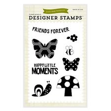 Echo Park Happy Little Moments 4x6 Photopolymer Stamps Stamp Set Fine & Dandy