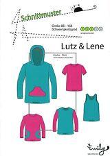 """*NEU* Schnittmuster Kinder T-Shirt """"Lutz & Lene"""", Gr. 86-158 *NEU*"""