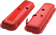 Trans-Dapt 9917 Valve Covers Big Block Chevy Orange Powder Coated