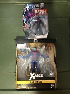 "ARCHANGEL Marvel Legends 6"" & 3.75 Figure Lot X-MEN Arch Angel NIB"