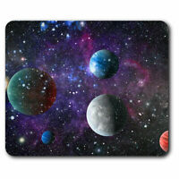 Computer Mouse Mat - Cosmic Planets Galaxy Space Office Gift #13270