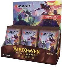 Strixhaven conjunto Booster Box 30 CT. nuevo y sellado STX Magic el encuentro 4/23!