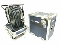 Canare R460S Brake Lock Cable Reel w/ 250 ft. BNC Breakout Cable & Case
