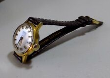 Vintage Roamer ladies watch automatic new leather strap. good working order