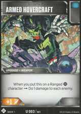 Armed Hovercraft - Transformers TCG - MINT - CCG - Uncommon