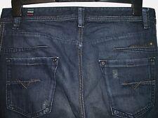 Diesel darron regular slim-tapered fit jeans blue eyecons 0809V W32 L32 (a2353)
