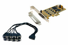 EXSYS ex-45368 - PCI-Express Mapa 8x Serial rs-232/422/485 , systembase CHIP