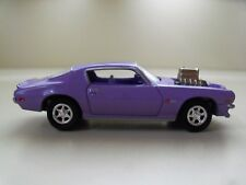 JOHNNY LIGHTNING - CLASSIC GOLD - 1973 CHEVY CAMARO Z28 SUPERCHARGED - (LOOSE)