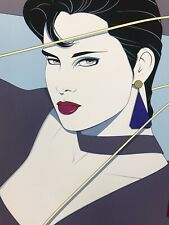 Commemorative Patrick Nagel 1987 Serigraph NC11 Merrill Chase Gallery Chicago