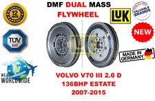 Pour Volvo V70 III 2.0 D 136BHP Break 2007-2015 Neuf Double Masse Dmf Volant