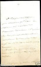 lettre Mgr. F.V. Rivet évêque de Dijon / au Duc et Duchesse de Clermont-Tonnerre