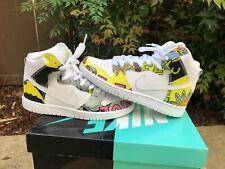 PADS Nike SB dunk high premium DE LA SOUL QS US size 6 11.5 Mens Shoes VNDS rare