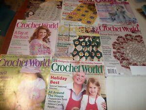 Crochet World Magazine Back Issues