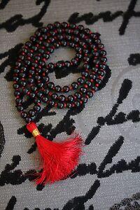 Tom hardy Style Sandalwood Beads Necklace - Handmade Sandalwood Japa Mala