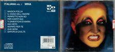 MINA Italiana Vol. 1 CD PDU Cat# 090 7906982 Pop Italiano No Sanremo