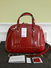 NEW Auth Gucci Nice guccissima Leather Top Handle Shoulder Bag Handbag Tote Hobo