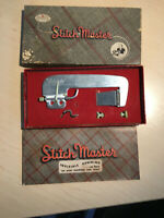 VINTAGE 1946 MIRACLE STITCH MASTER SM-4 IN ORIGINAL BOX W INSTRUCTION BOOKLET