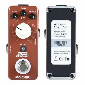 MOOER REIN 11 Effekte Polyphone Oktave Verzerrung des E-Gitarren-Effektpedals