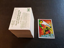 *** Panini Marvel Super Heroes Secret Wars Stickers ( 1986 ) ***