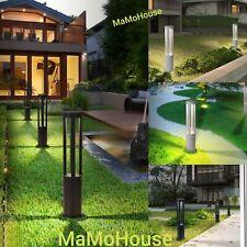 Lampione lampioncino da esterno palo illuminazione giardino 60cm 220v 12W ip65