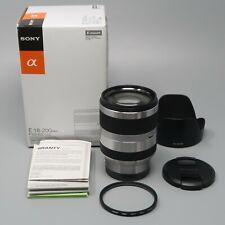 Sony Silver E 18-200mm F/3.5-6.3 OSS SEL18200 (for Sony E mount)