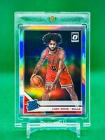 2019-20 Panini Optic Coby White RC Silver Holo Prizms Refractor ROOKIE Bulls NBA